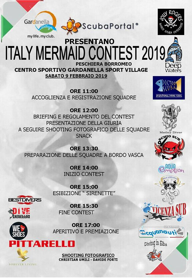 mermaid contest